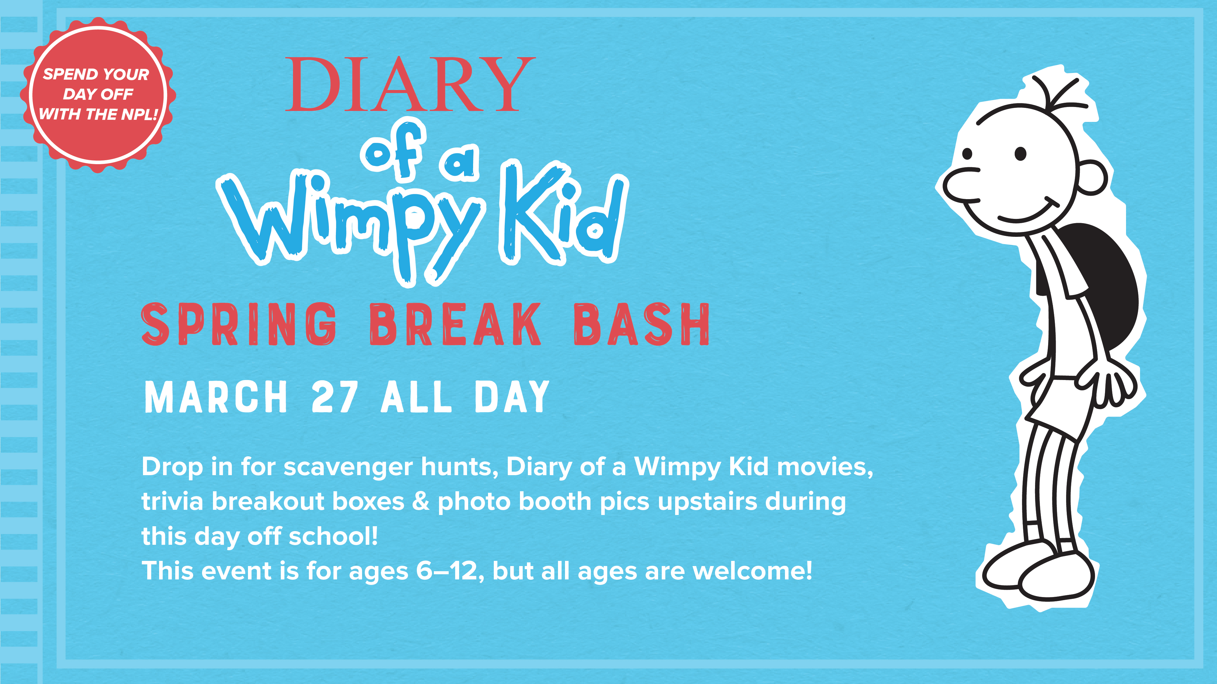 Diary of a Wimpy Kid: Spring Break Bash