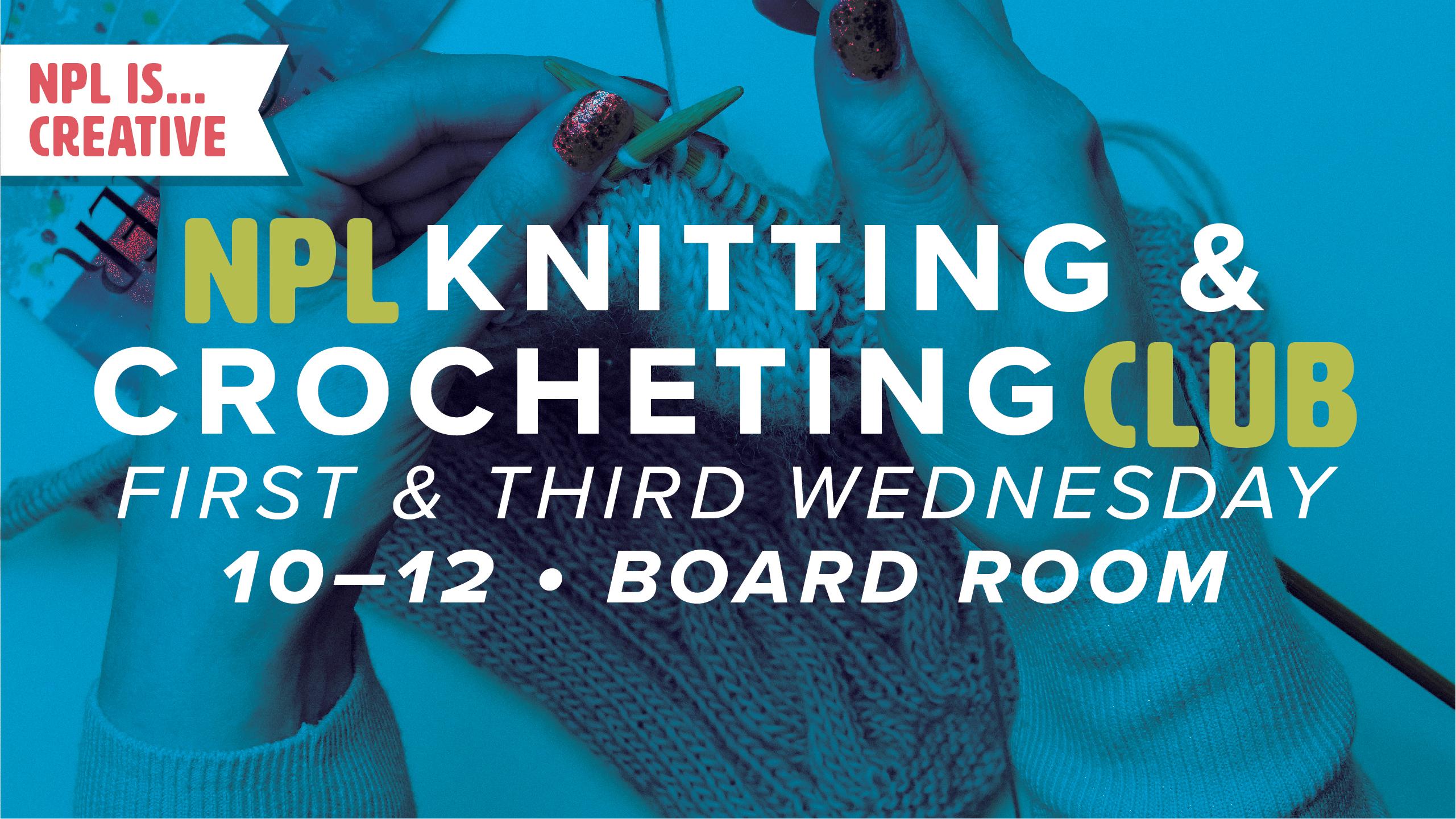 Knitting & Crocheting Club