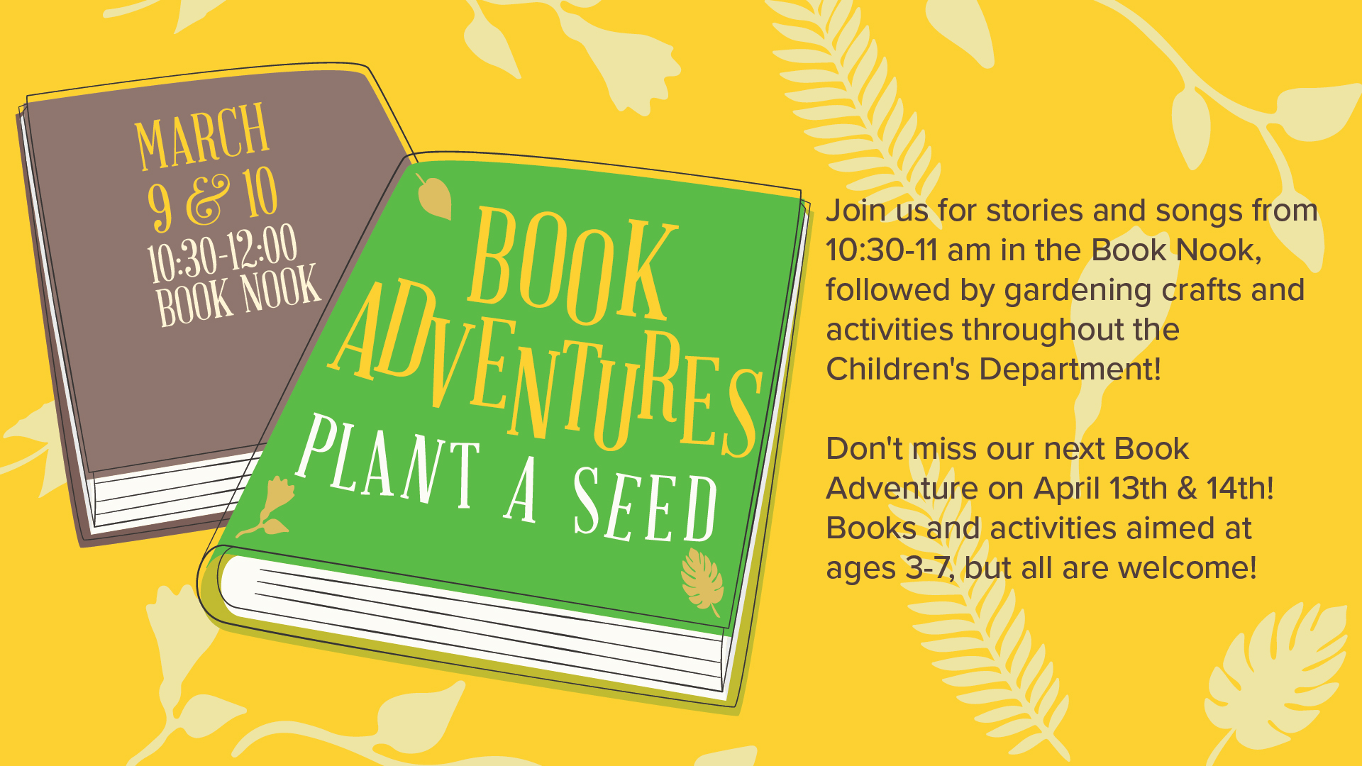 Book Adventures: Plant a Seed