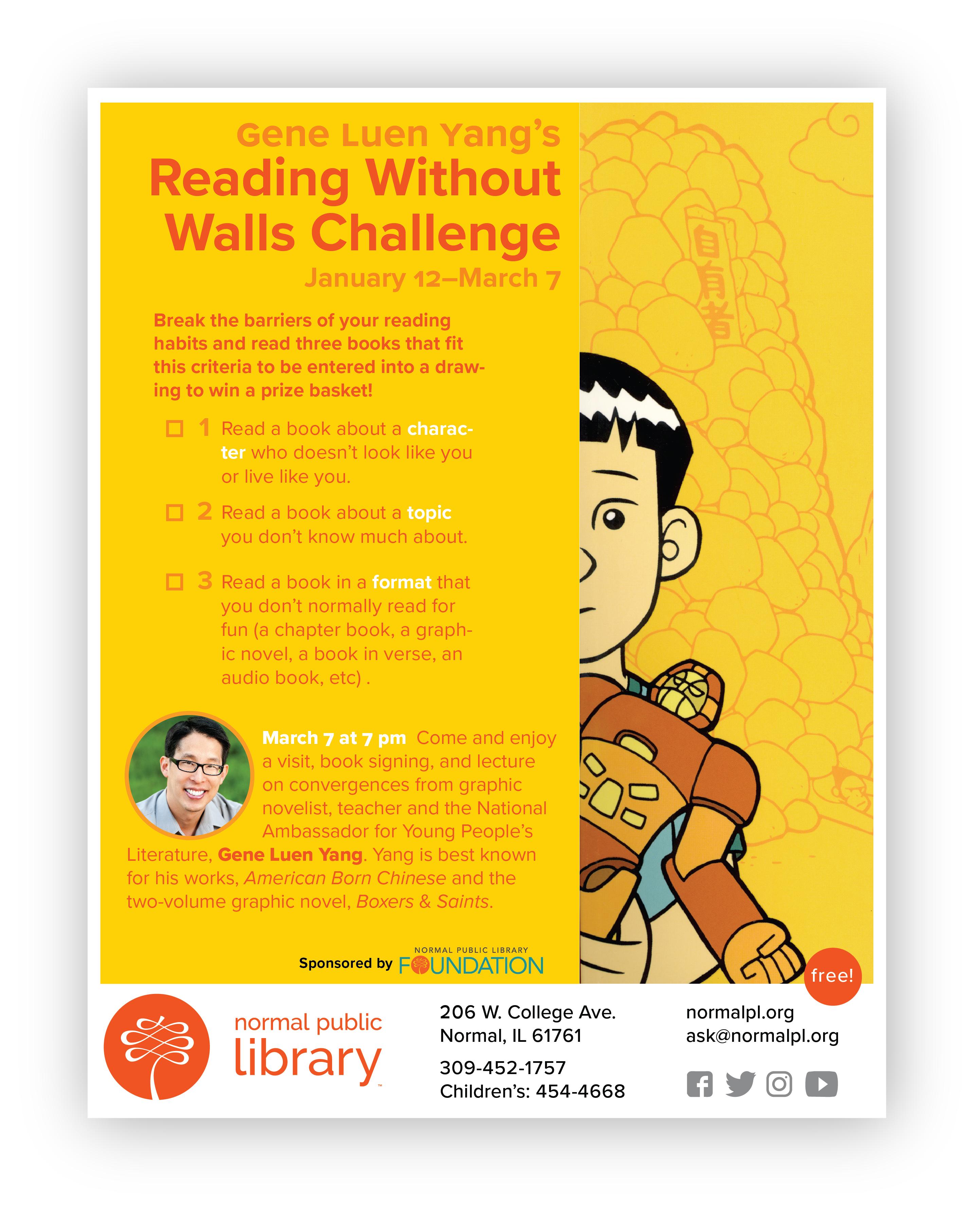 Author Gene Luen Yang | Normal Public Library