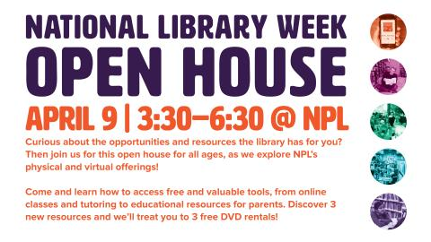 National Library Week Open House