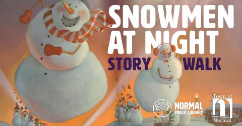 Snowmen at Night Story Walk