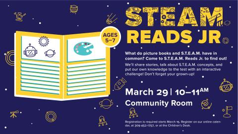 Steam Reads Jr.