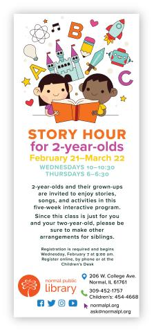Story Hour for 2-year-olds