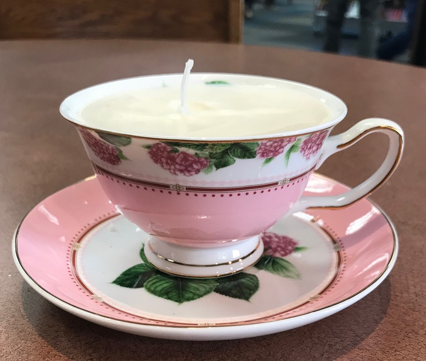 teacup candle image